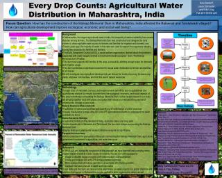 Every Drop Counts: Agricultural Water Distribution in Maharashtra, India