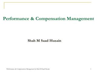 Performance & Compensation Management