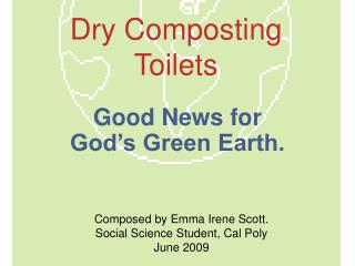 Dry Composting Toilets