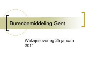 Burenbemiddeling Gent