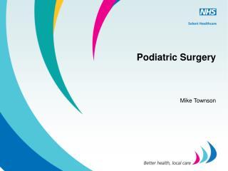 Podiatric Surgery