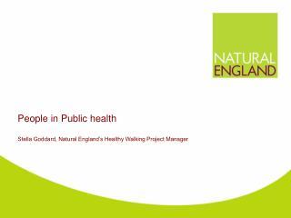 People in Public health