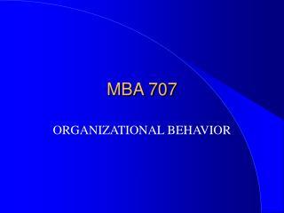 MBA 707