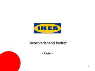 Dienstverlenend bedrijf - Case -
