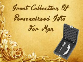 New Collection of Personalized Gifts For man