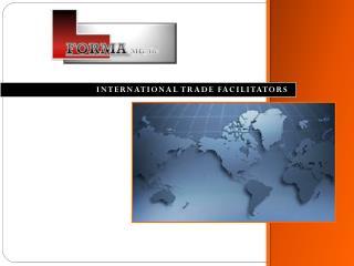 International trade facilitators