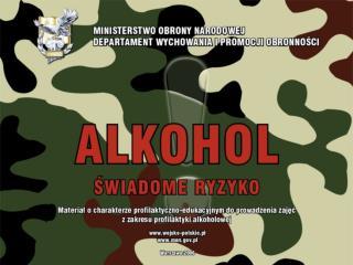 Podział alkoholi ze względu na ich skład chemiczny  i szkodliwość dla zdrowia