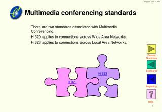 Multimedia conferencing standards