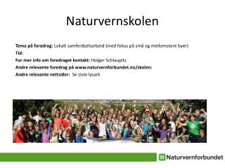 Naturvernskolen