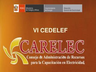 Ministerio de Energía y Minas Dirección General de Electricidad
