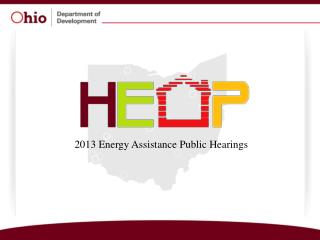 2013 Energy Assistance Public Hearings