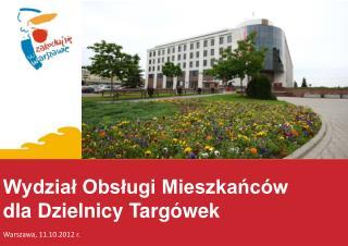 Wydział Obsługi Mieszkańców dla Dzielnicy Targówek