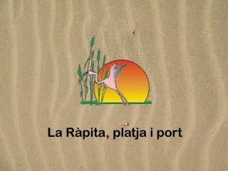 La Ràpita, platja i port