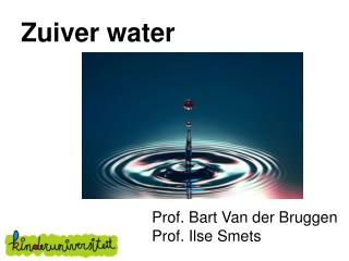 Zuiver water