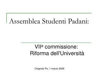 Assemblea Studenti Padani: