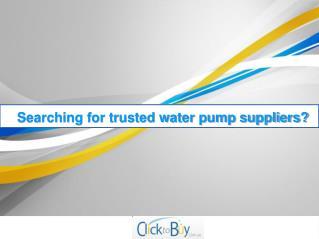 Buy Submersible Pumps Online – Clicktobuy.com.au