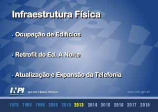 Ocupação de Edifícios Retrofit  do Ed. A Noite  Atualização e Expansão da Telefonia