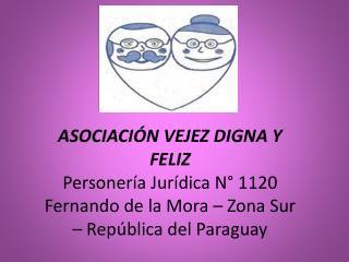 Fernando de la Mora Ciudad joven y feliz 71 años  21 km2. 163.000 habitantes