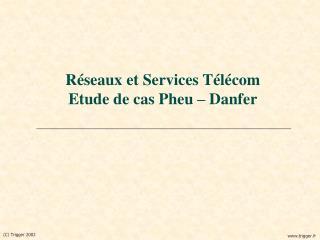 Réseaux et Services Télécom Etude de cas Pheu – Danfer