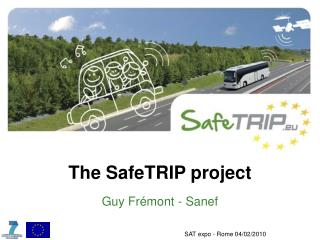 The SafeTRIP project