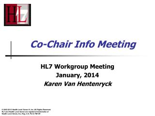 Co-Chair Info Meeting