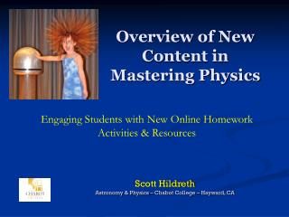 Overview of New Content in Mastering Physics
