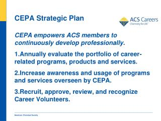CEPA Strategic Plan