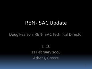 REN-ISAC Update