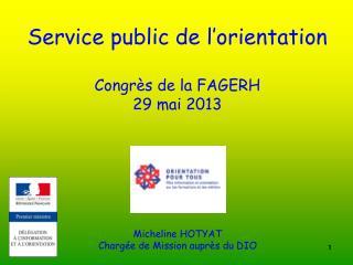 Service public de l�orientation