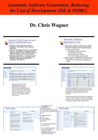 Dr. Chris Wagner