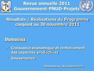 N'Zérékoré, le  28 novembre 2011
