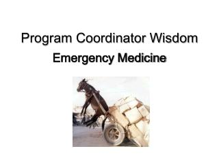 Program Coordinator Wisdom