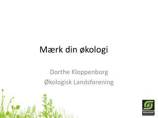 Mærk din økologi