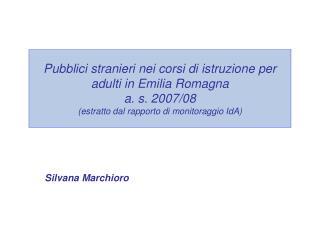 Silvana Marchioro
