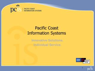 Pacific Coast Information Systems