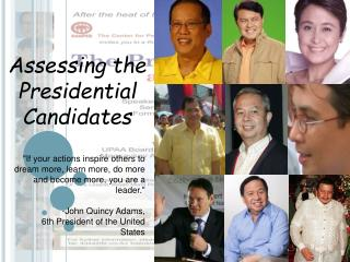 Assessing the Presidential Candidates