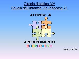 Circolo didattico 32° Scuola dell'Infanzia Via Pisacane 71