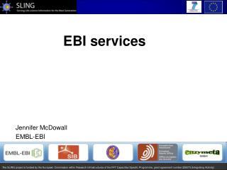 EBI services