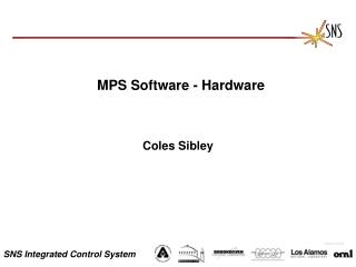 MPS Software - Hardware