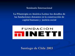Santiago de Chile 2003