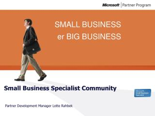 Small Business Specialist Community