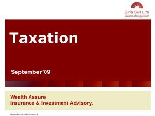Wealth Assure Insurance & Investment Advisory.
