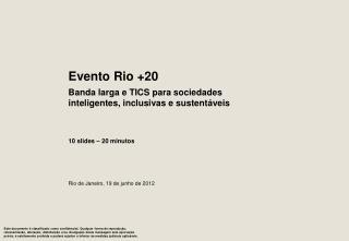 Rio de Janeiro, 19 de junho de 2012