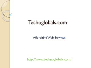 Result Oriented Web Services-Technoglobals.com