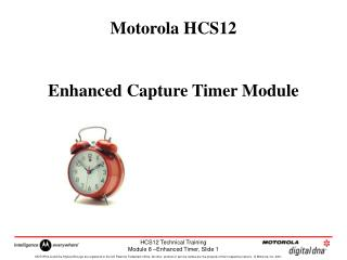 Motorola HCS12  Enhanced Capture Timer Module
