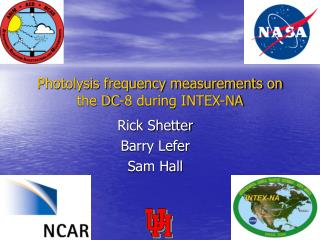 Photolysis frequency measurements on the DC-8 during INTEX-NA