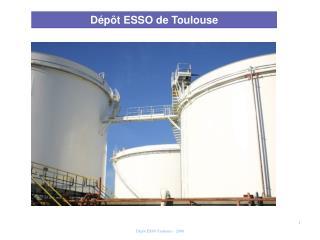 Dépôt ESSO de Toulouse