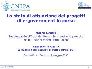 Convegno Forum PA La qualità negli acquisti di beni e servizi ICT