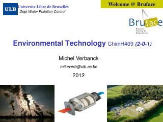 Environmental Technology  ChimH409 (2-0-1)
