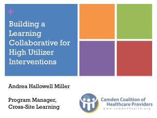 Building a Learning Collaborative for High Utilizer Interventions